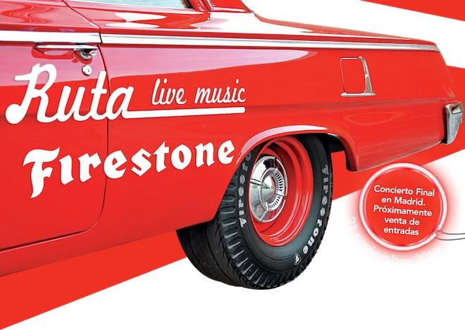 ruta firestone 2019 sorteo conciertos