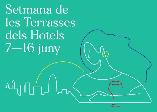 semana de las terrazas de los hoteles 2019