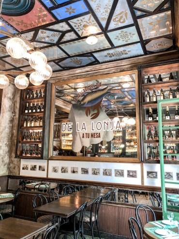 casa de comidas modernista barcelona