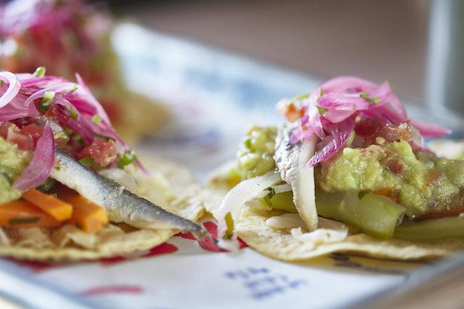tacos mexicano creativos en barcelona