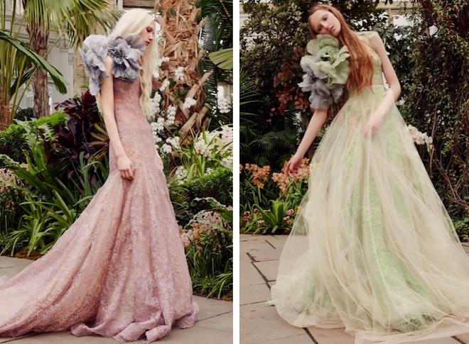 vestido de novia rosa