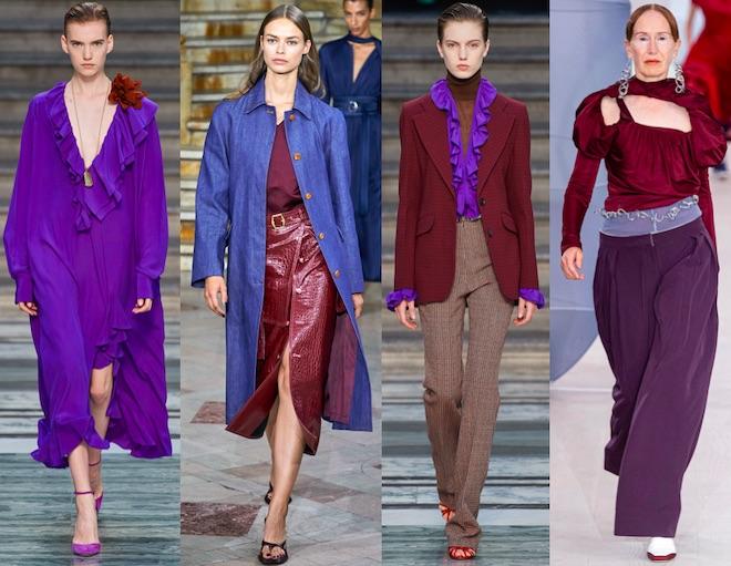 morado color de moda verano 2020
