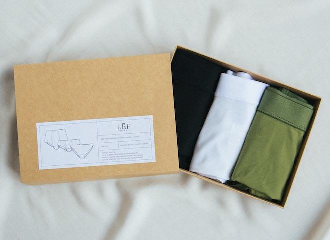 packaging sostenible bragas