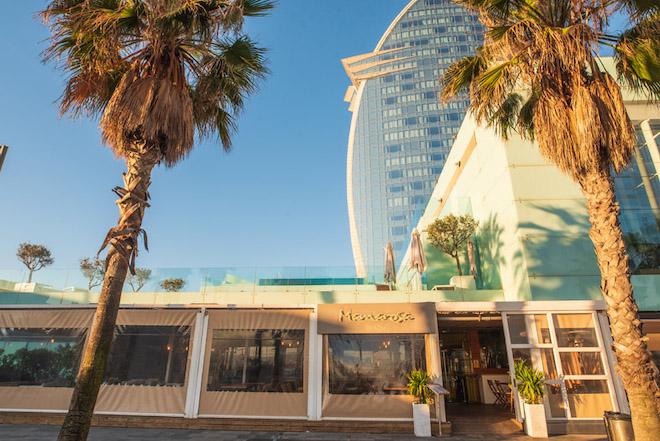 mamarosa beach restaurante barceloneta