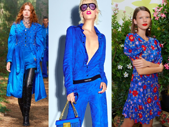 french blue color de moda 2021