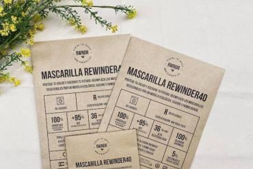 mascarilla rewinder 40