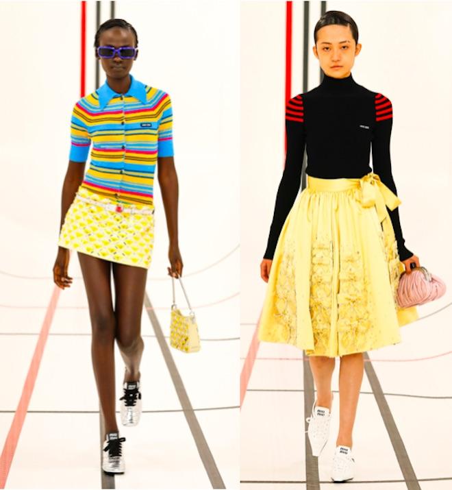 moda de color amarillo 2021