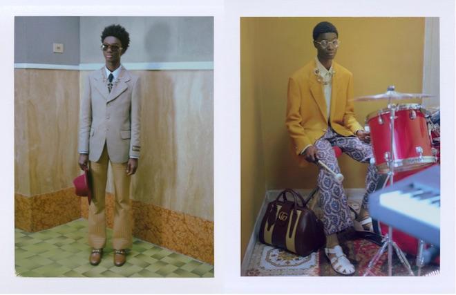 moda masculina anos 70 gucci