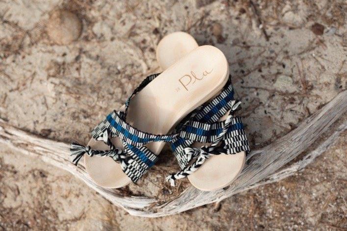 Modelo Fomentor de la nueva línea de sandalias de Pla