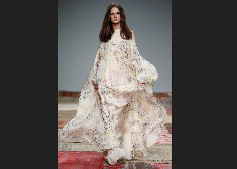 © Bridal Fashion Week. Uno de los looks de Houghton.