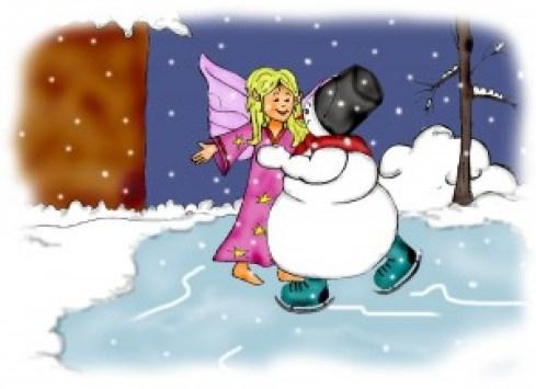 táncos hópelyhekkel