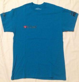 Kék póló kör