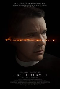 First Reformed DVD cover