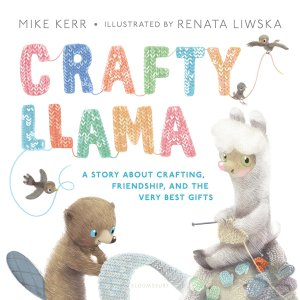 Crafty Llama book cover