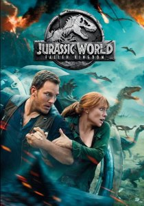Jurassic world Fallen Kingdom movie cover