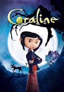 Coraline Movie Cover