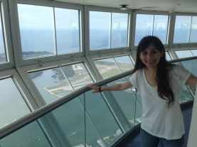 Top of CN Tower thanks for Lauren