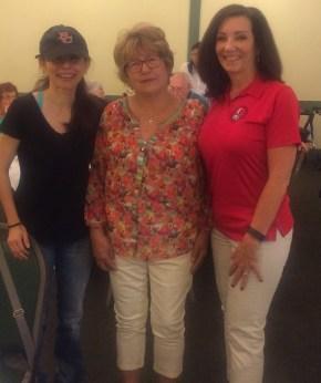 Sonya Christian, Betty Bean, Karen Thompson