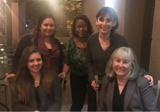 lesley Bonds, Maria Wright, Jennifer Johnson, Sonya Christian, Janet Fulks