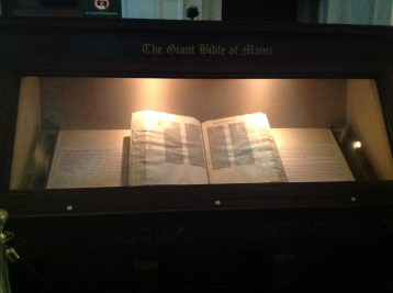 The Giant Bible of Mains (pre-printing press)