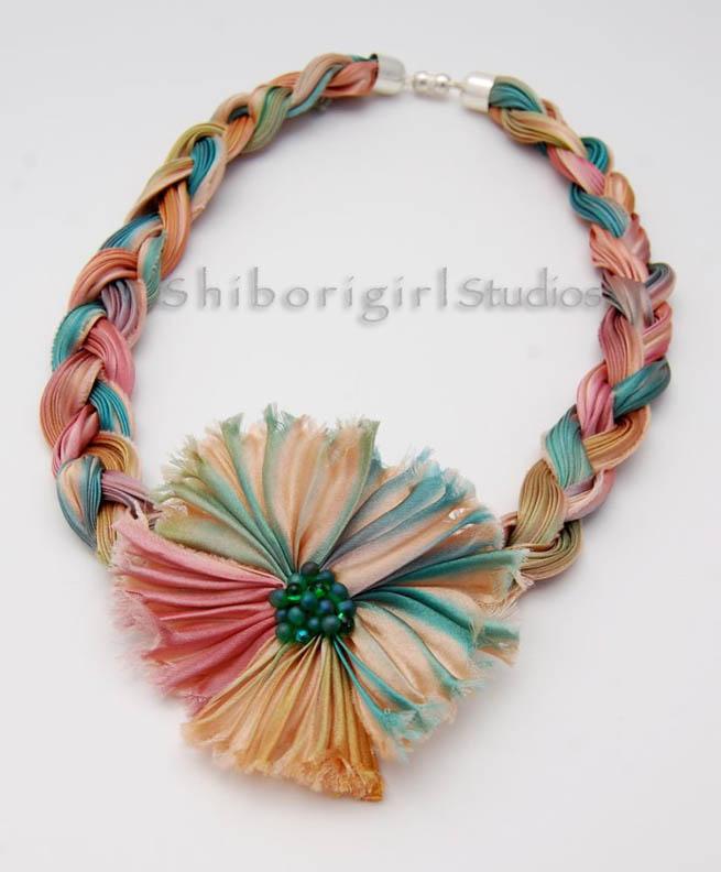 Shibori No Hana Hand Made Scarves