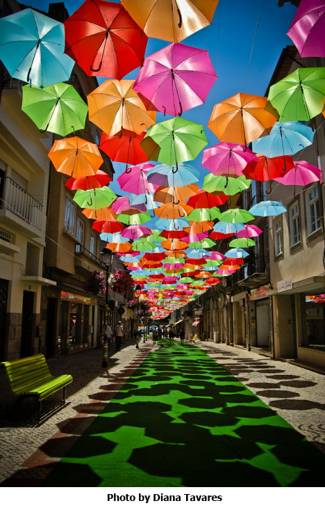 Umbrella Sky Photo by Diana Tavares
