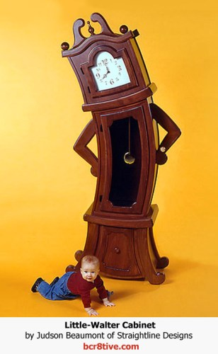 Judson Beaumont Furniture - Sullivan Clock