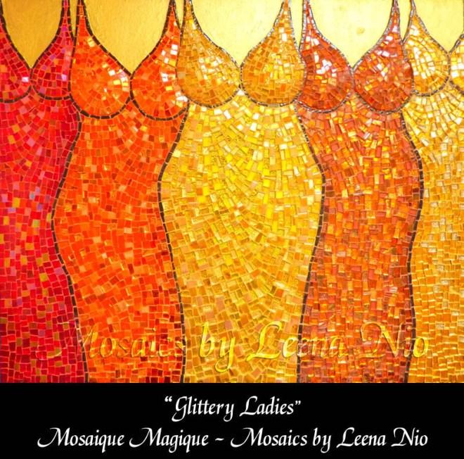 Mosaics by Leena Nio - Glittery Ladies