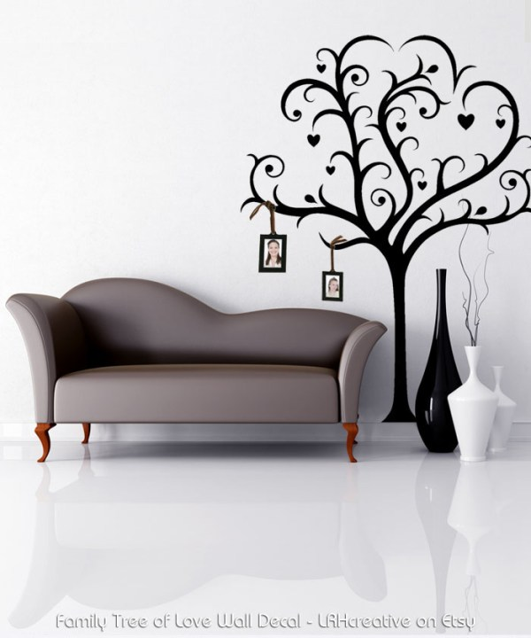 Family Tree of Love Wall Decal