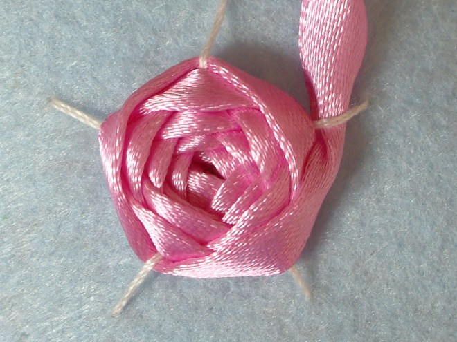 Ribbon Embroidery by Fairy Fox