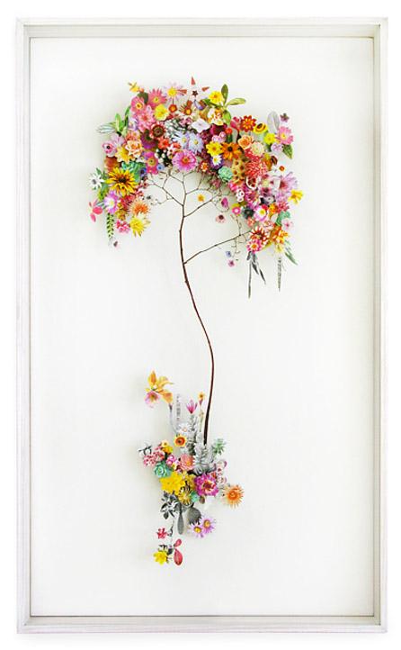 3D Botanical Flower Constructions by Anne Ten Donkelaar - Flower construction #13