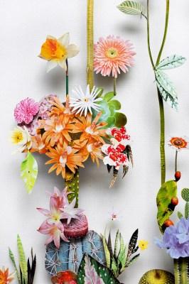 3D Botanical Flower Constructions by Anne Ten Donkelaar #17b