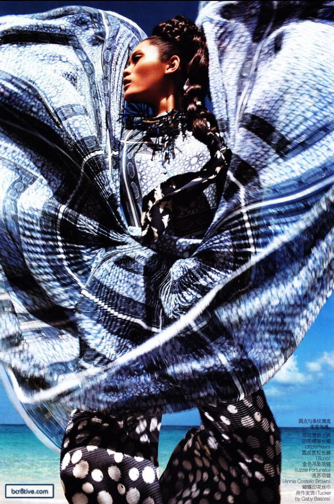 Ming Xi for Vogue China