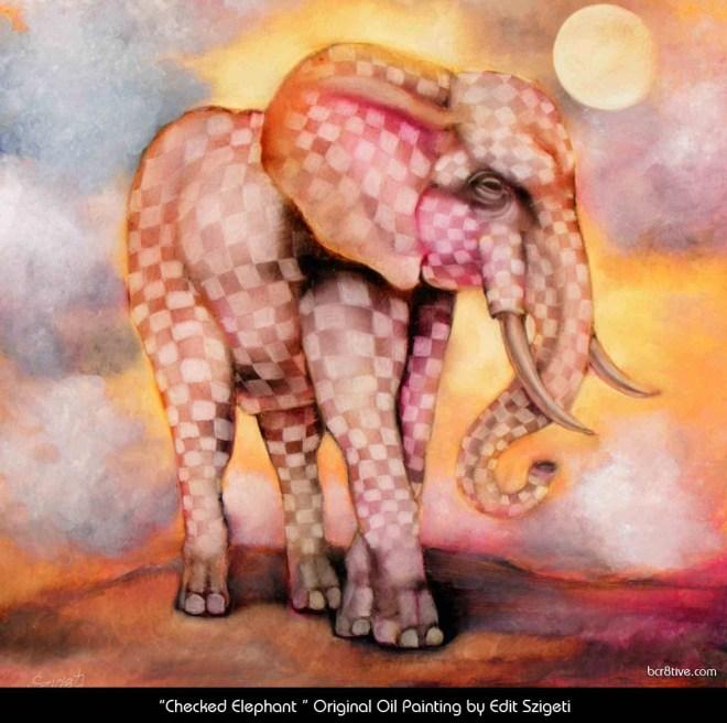 Edit Szigeti's Checkered Elephant
