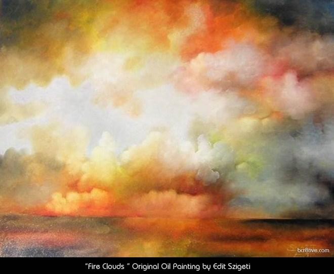 "Edit Szigeti's ""Fire Clouds"""