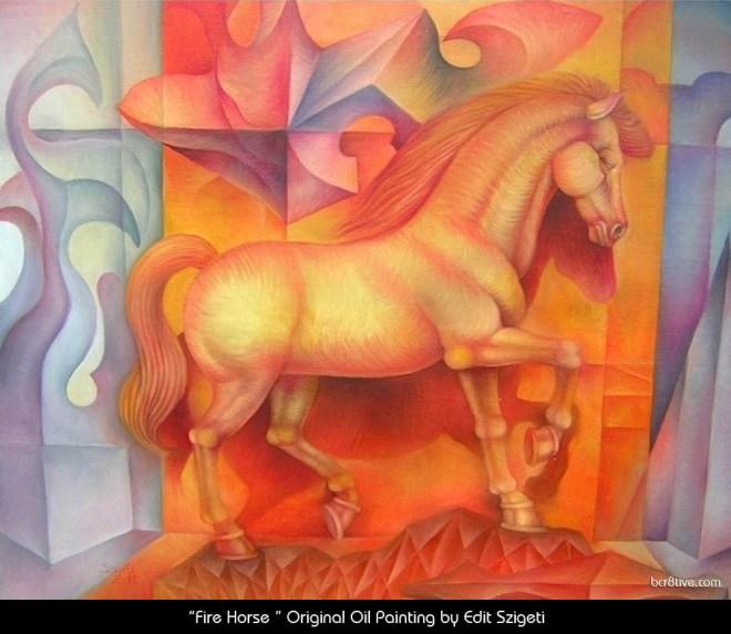 "Edit Szigeti's ""Fire Horse"""