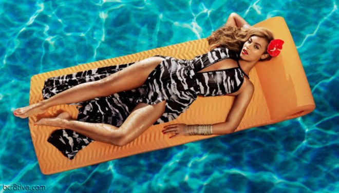 Beyonce as Mrs. Carter in H&M's Summer 2013 Campaign