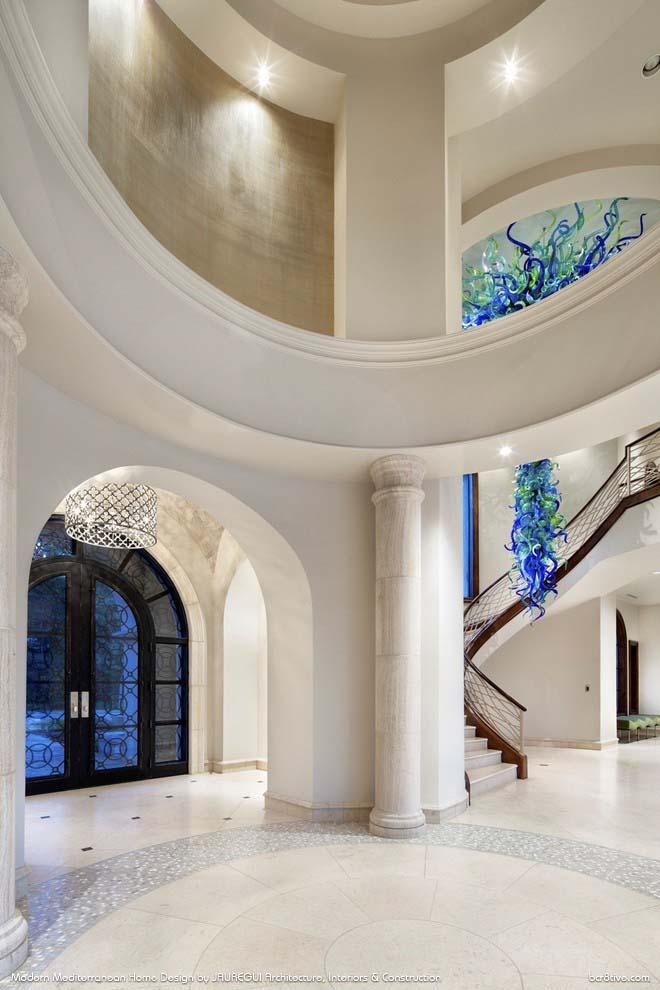 JAUREGUI Architecture, Interiors & Construction - Exquisite Contemporary Foyer