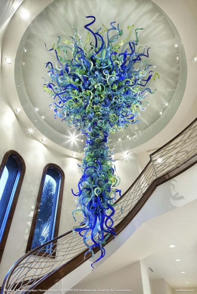 JAUREGUI Architecture, Interiors & Construction - Exquisite Contemporary Staircase