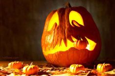 Halloween Party Ideas - Carved Pumpkin