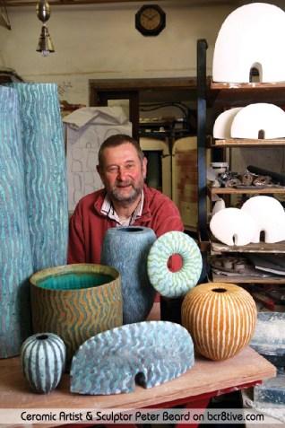 Peter Beard in his workshop