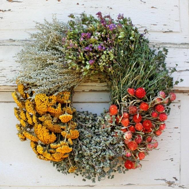 Floral Herb Wreath - Williams-Sonoma