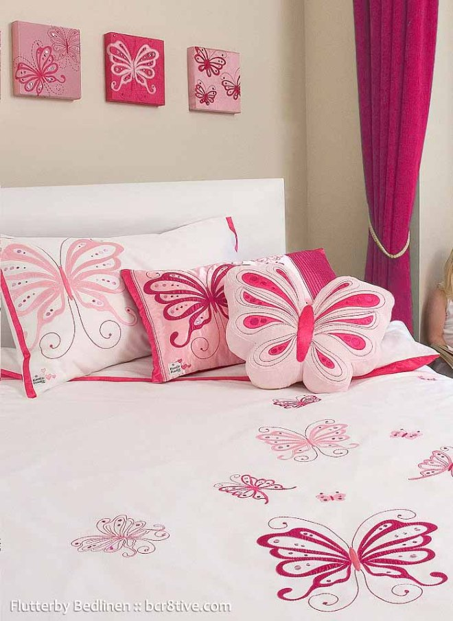 Flutterby Bedlinen - Creative Butterfly Decor