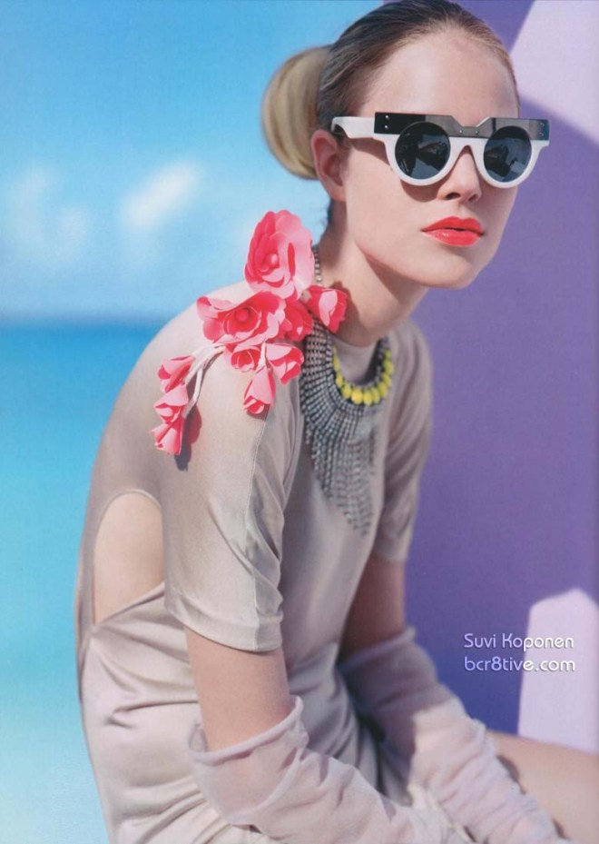 Suvi Koponen by Javier Vallhonrat for Vogue UK