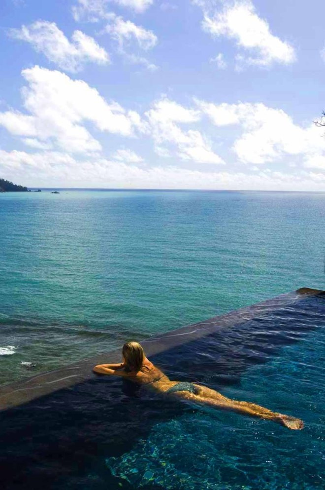 Maia Luxury Resort & Spa - Infinity Pool - Seychelles