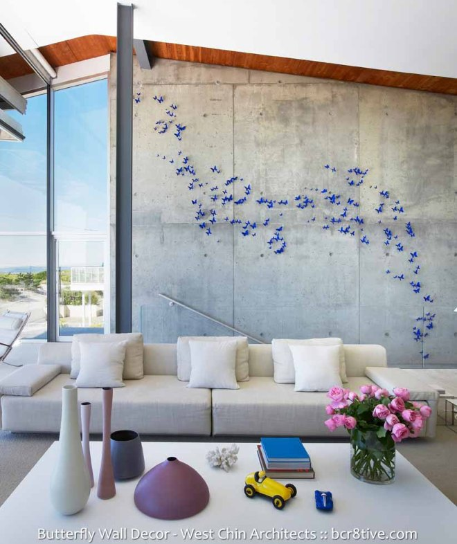West Chin Architects - Creative Butterfly Decor