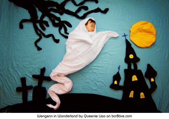 A Spooky Halloween - Creative Baby Photography by Sioin Queenie Liao