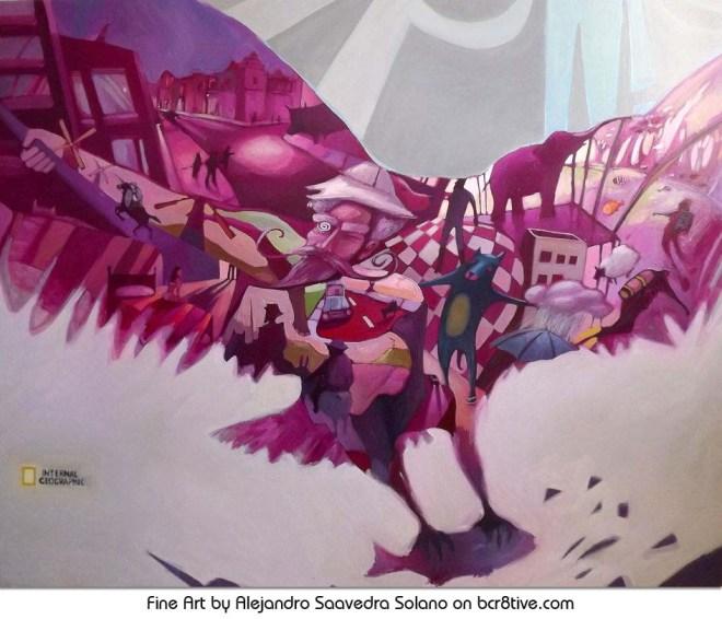 The Art of Alejandro Saavedra Solano - Aguila - The Eagle
