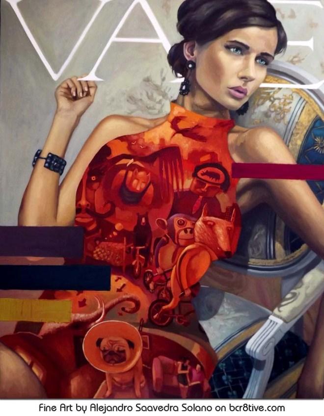 The Art of Alejandro Saavedra Solano - Model
