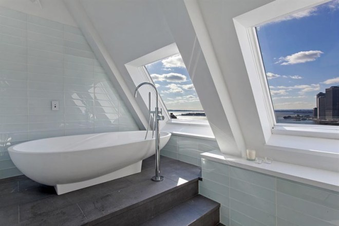 Bath in the Clock Tower Penthouse New York